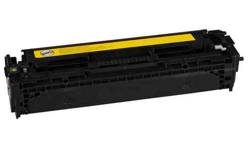 InkAttack ersetz Toner CB542A HP CLJCP1215 CARTR YEL 1400pages ISO/IEC 19798