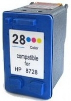 InkAttack ersetz HP Tinte 28 XL Color, Virgin-Refi