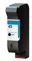 InkAttack ersetz HP Tinte 45 XL Black, Virgin-Refi