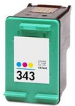 InkAttack ersetzt HP Tinte 343 XL Color,Virgin-Recycling vom Original-Leergut